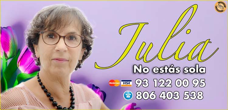 Julia - buena tarotista española